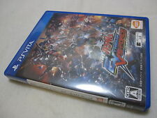 7-14 Days to USA. USED PS Vita Mobile Suit Gundam EXTREME VS-FORCE. Japanese Ver