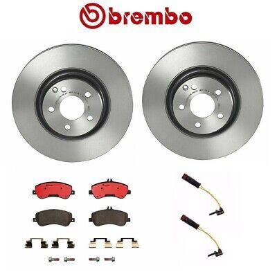 Brembo Front Rear Ceramic Brake Pads with Sensors Kit For MB X204 GLK250 GLK350