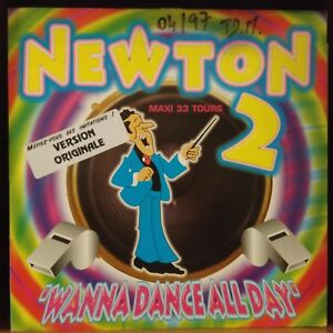 Newton-Wanna-Dance-All-Day-Vinyl-12-034-Maxi-33-Tours