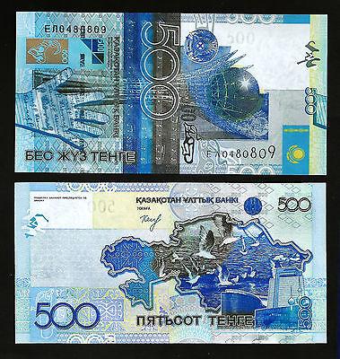 P-29B Banknote UNC 500 Tenge 2015 Kazakhstan 2006