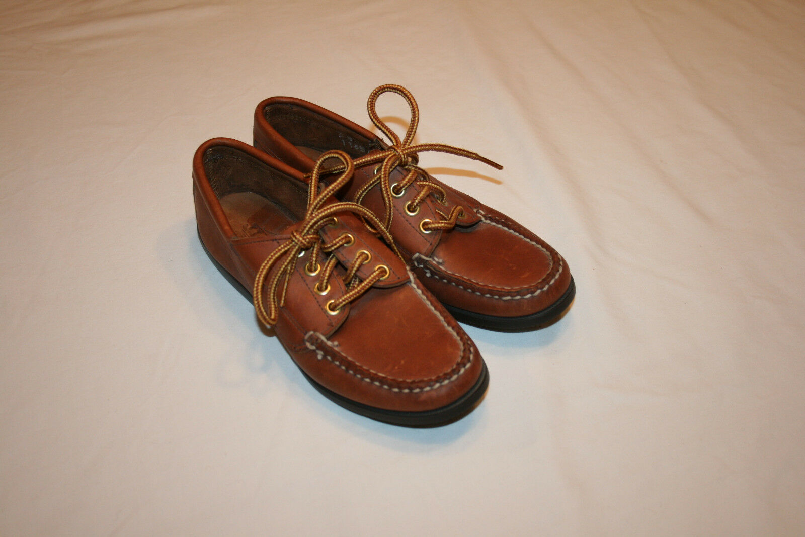 HandSewn COOMBS Leather démarrage chaussures Moccasins chaussures femmes 5B NWOT Maine USA Gokey