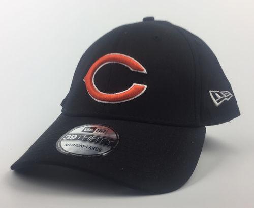 Chicago Bears Black Base New Era 39Thirty