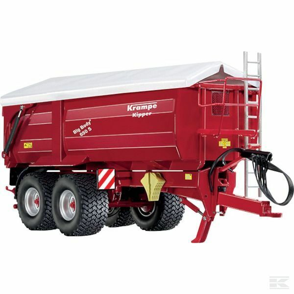 Wiking Krampe Big Body 650 S Tipping Trailer 1 32 Scale Model Toy Gift Christmas