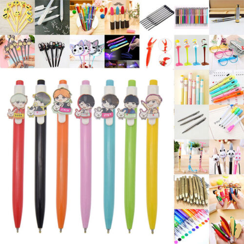 Wholesale Stationery Writing Gel Pen Ballpoint Sign Child School Office 55Styles
