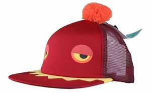 16a2557a1900b Image is loading Neff-Maroon-Red-Monster-Cap-Snapback-Hat