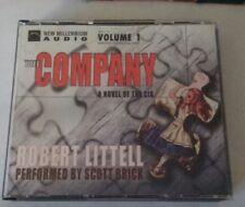 Item 4 The Company A Novel Of CIA By Robert Littell 16 CDs Abridged