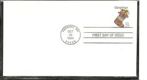 US-SC-2872-Christmas-1994-Stocking-FDC-Ready-For-Cachet