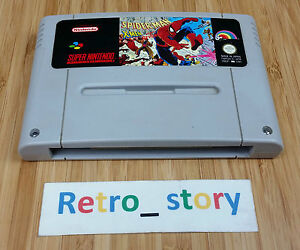 Super-Nintendo-SNES-Spider-Man-X-Men-Arcade-039-s-Revenge-PAL