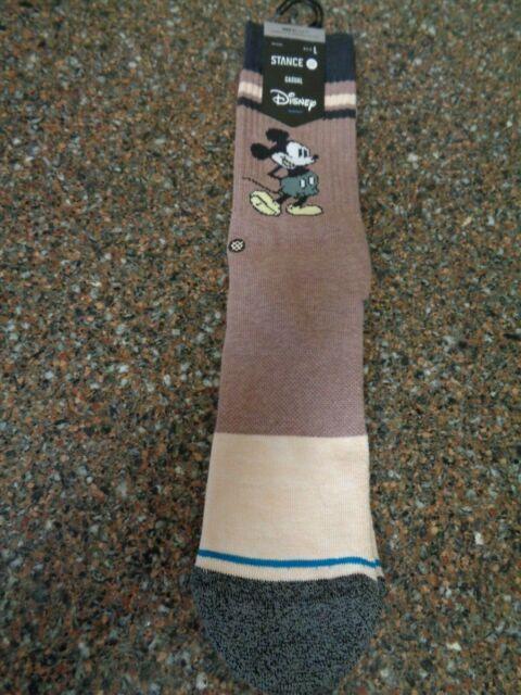 Stance x Disney Vintage Mickey Large (9-13) Crew Socks 2020 NWT Casual Unisex