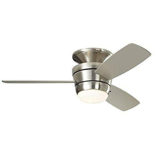 Ceiling Fan 44 In Brush Nickel Led