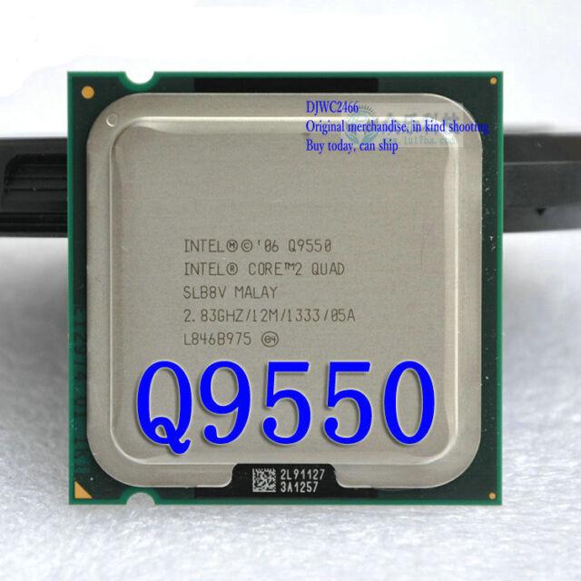 Intel Core 2 quad-core CPU Q9550 2.83GHz / 12M / FSB1333 LGA775 processor