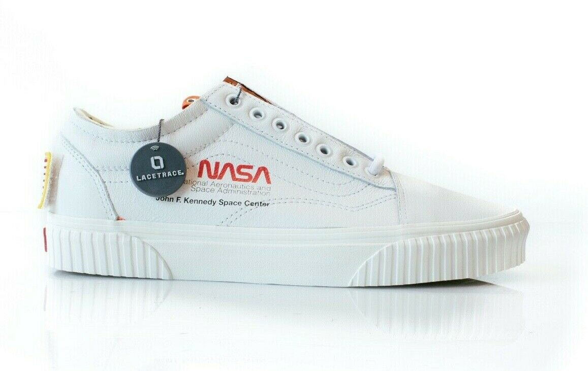 Vans X NASA Old Skool Auténtico blancoooo Voyager Nuevo VN0A38G1UP9 Space