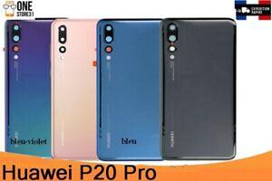 Vitre-arriere-couvercle-cache-batterie-Huawei-P20-Pro-lentille-camera-adhesif