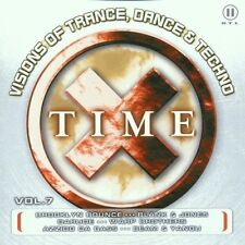 Time X 7 (2001) Fragma feat. Maria Rubia, Cosmic Gate, Ian van Dahl, Br.. [2 CD]