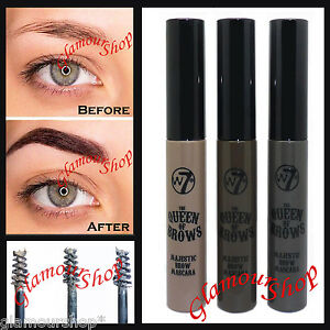 W7 The Queen of Brows Majestic Eyebrow Shaping Definer Gel Mascara ...