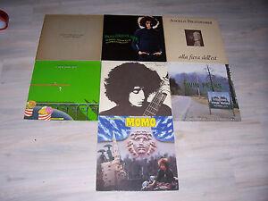 Angelo-BRANDUARDI-Sammlung-collection-mit-8-acht-eight-verschied-LPs