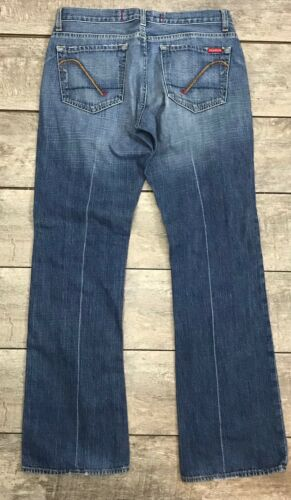 Femme L30 Usa Guess Botte Distressed Cut X Taille Blue Jeans W28 1zpqwv