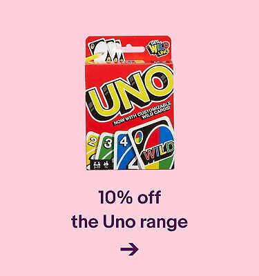 10% off the Uno range