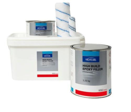 /kg // Yachtcare High Build Build Build Epoxy Filler // Epoxyspachtel Rollspachtel 5kg 901856