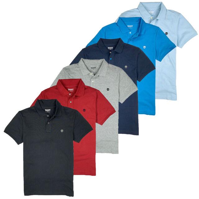 prezzo ragionevole moderno ed elegante nella moda pacchetto elegante e robusto Timberland Men's Short Sleeve MILLERS River Pique Dark Sapphire ...