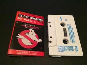RAY-PARKER-JR-GHOSTBUSTERS-AUSTRALIAN-CASSINGLE-CASSETTE-TAPE