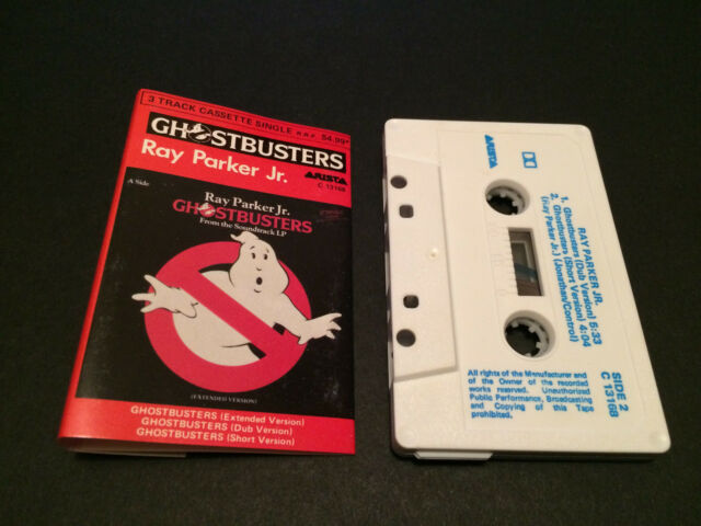 RAY PARKER JR. GHOSTBUSTERS AUSTRALIAN CASSINGLE CASSETTE TAPE