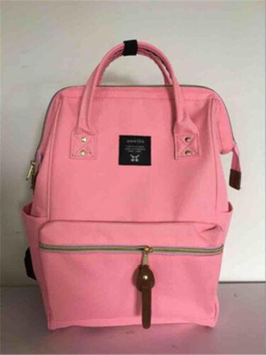 Japan Anello Large Unisex Backpack Waterproof Travel Rucksack School Bag Laptop