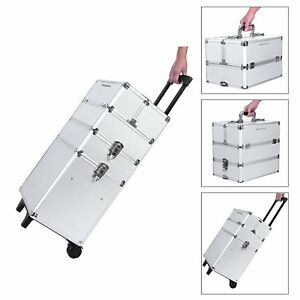 Cartable-Trolley-Professionnel-Maquillage-Usage-Cosmetique-Esthetique-avec-6-Cle