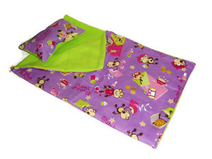 Slumber-Party-Monkeys-Sleeping-Bag-fits-American-Girl-18-034-Doll-Clothes