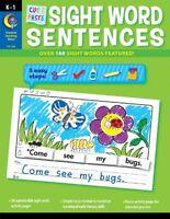 Cut And Paste Sight Words Sentences By Rozanne Lanczak Williams, (perfect Paperb