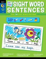 Cut And Paste Sight Words Sentences By Rozanne Lanczak Williams, (perfect Paperb