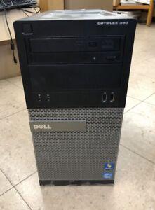 Dell Optiplex 390 BUNDLE!Dell Optiplex 390 MT Intel Core i3 2100, 3.10GHz, 4GB