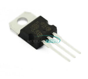 5PCS L317 LM317 LM317T TO-220 Voltage Regulator 1.2V To 37V 1.5A NEW
