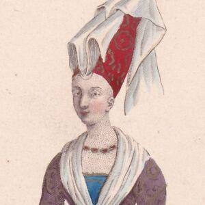 Portrait-Bonne-De-Berry-Comtesse-de-Savoie-Comtesse-de-Carlat-Capetiens-Valois