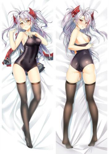"""Azur Lane Prinz Eugen Dakimakura Anime Body Hugging Pillow Cover Case 150x50 59/"""""""