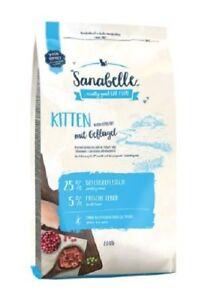 10 kg de nourriture pour chat Sanabelle Kitten