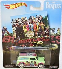 HOT WHEELS  POP CULTURE 2017 THE BEATLES '67 AUSTIN MINI VAN