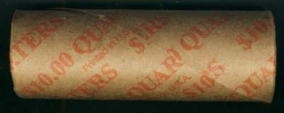 """State Quarter 25c Uncirculated Roll of 40 /"""" D /"""" Mint #21 2003 Illinois IL"""