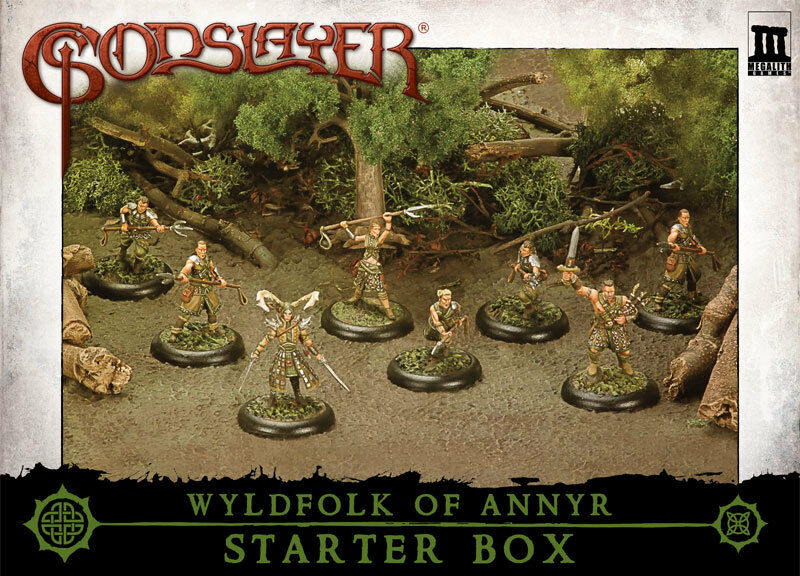 MG0600 WYLDFOLK OF ANNYR STARTER BOX - GODSLAYER - MEGALITH - FANTASY - E
