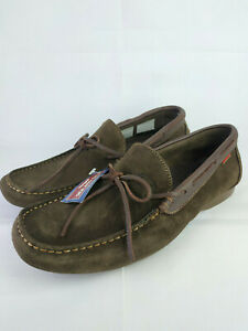 Sea-and-City-Men-039-s-Suede-Leather-Casual-Low-Top-Slip-on-Moccasins-Shoes