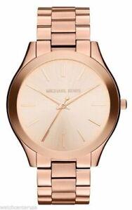 Michael-Kors-Women-039-s-MK3197-Runway-Analog-Display-Analog-Quartz-Rose-Gold-Watch