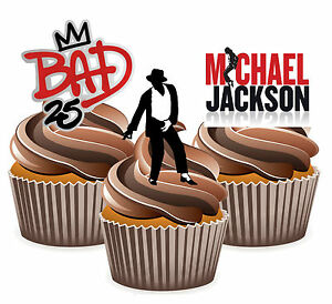 Image Is Loading Michael Jackson Bad Mix Fun Fully Edible Birthday