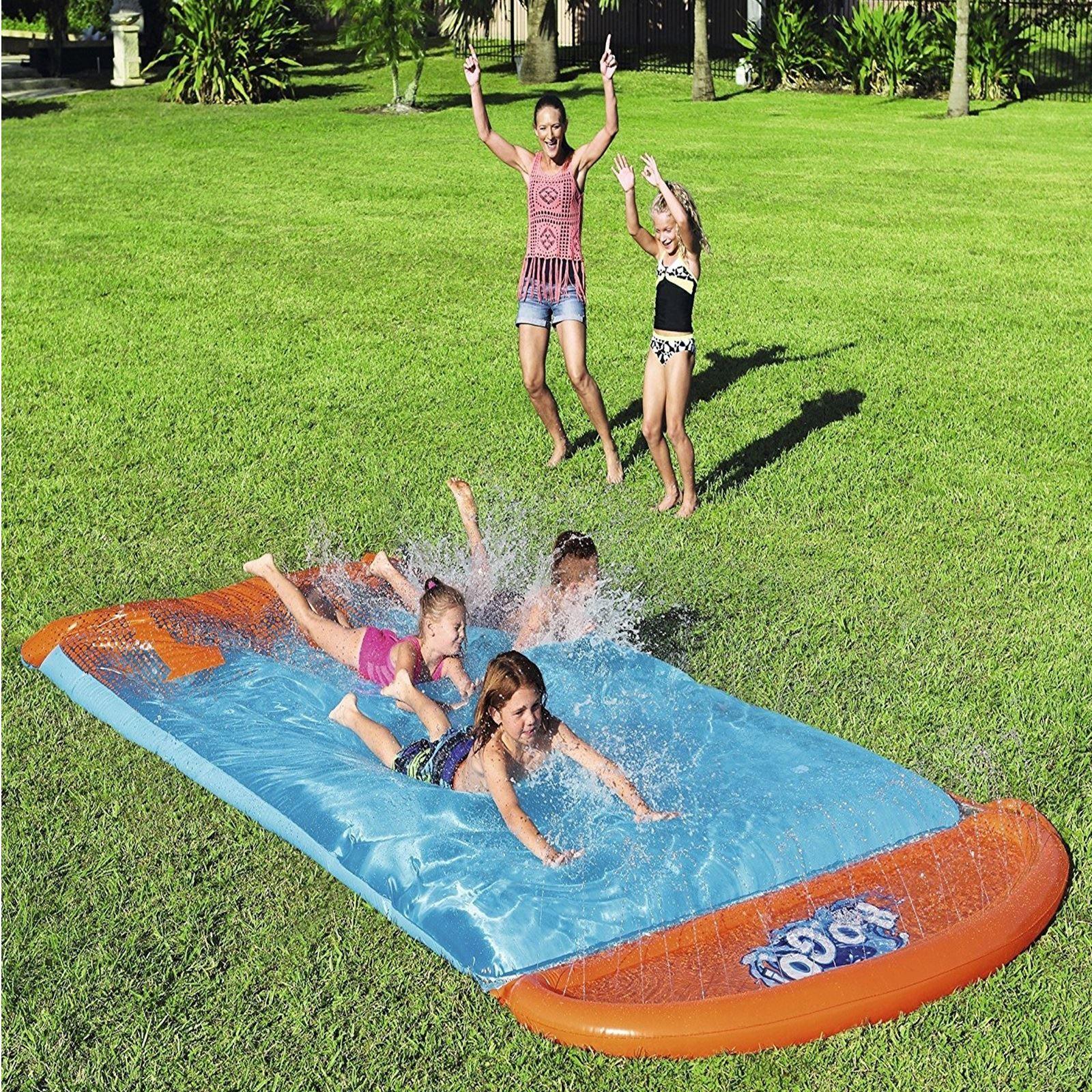 Bestway H20 Go Blobzter Kinder Wasser Rutsch n 15' Garten Sprinkler Spielzeug