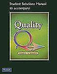 Student Solutions Manual for Quality, Summers, Donna C., Acceptable Book
