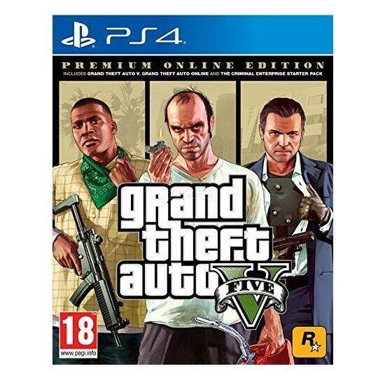 PS4 GTA V Premium Online Edition