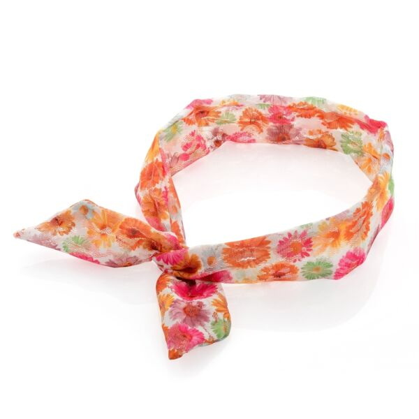 Stampa Floreale Colorato In Tessuto Morbido Pizzo Design Knot Cablata Cerchietto Capelli Wrap Band Domanda Che Supera L'Offerta