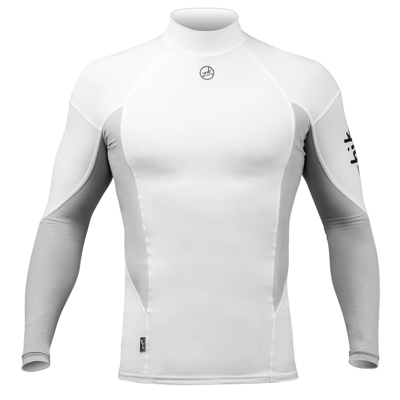 Zhik Long Sleeve  Spandex Top - White  at cheap