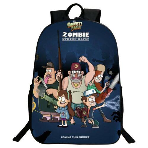 New Undertale School Bag Kids 3D Print Backpack Students Game Style Shoulder Bag