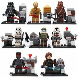 8-X-MINI-FIGURES-STAR-WARS-MINIFIGS-FIT-WITH-LEGO-UK-SELLER-THE-FORCE-JEDI-TOY