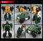 miniature 13 - Hasbro Transformers TITANS RETURN G1 IDW Windcharger Gnaw Action Figure No Box